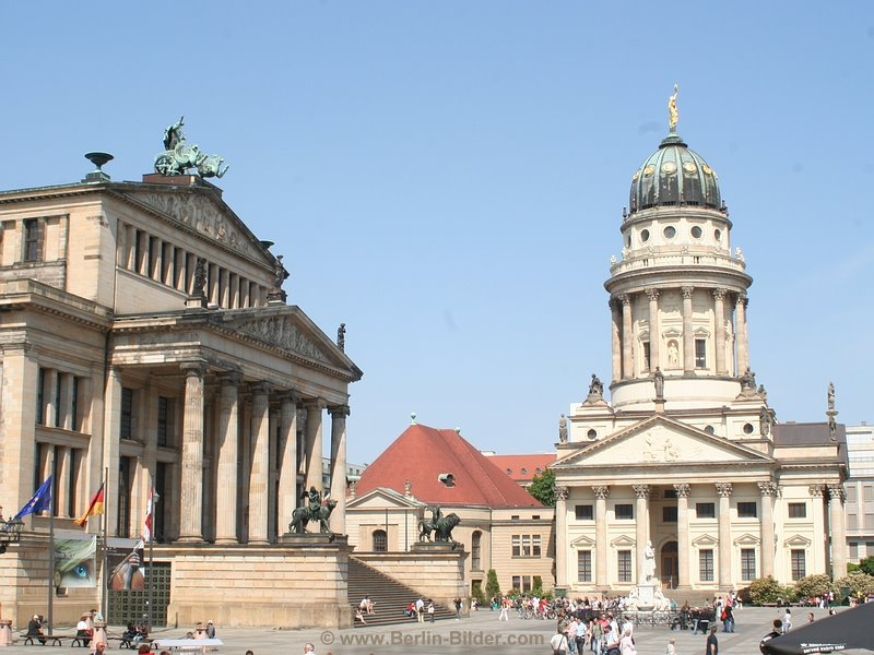 bilder aus berlin und potsdam gendarmenmarkt konzerthaus berlin ehem deutsche schauspielhaus. Black Bedroom Furniture Sets. Home Design Ideas